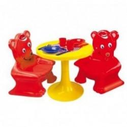 Mesa y silla Osos